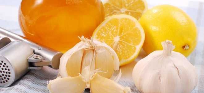 Полезные свойства в рецептах эликсира молодости на основе меда, лимона и чеснока