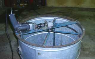 Конструирование медогонки электрической своими руками