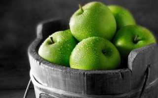 Целебные свойства яблок зеленых сортов