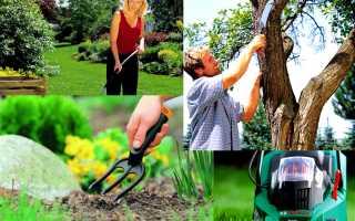 Как выбирать садовую технику?
