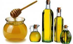 Рецепт маски для волос с использованием натурального меда и оливкового масла